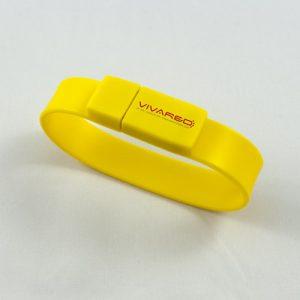 Chiavette_USB_personalizzate_bracciale_F-101_vivared_giallo