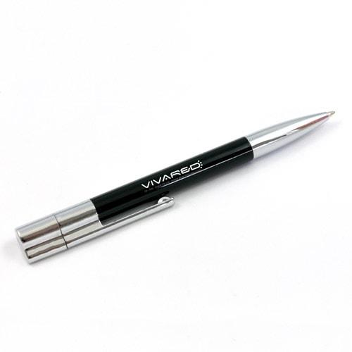 Chiavette USB a forma di penna con USB nel tappo, vari colori e personalizzabile con logo