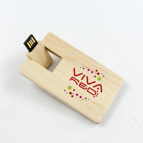 Chiavette USB in legno personalizzate W-110