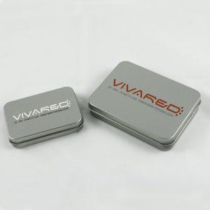 Scatole in metallo chiuse per chiavi USB