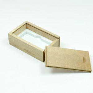 Confezioni in legno di acero per chiavi usb